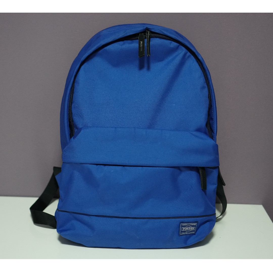 Authentic Porter Yoshida Backpack Blue in color 4184ed8596fc7