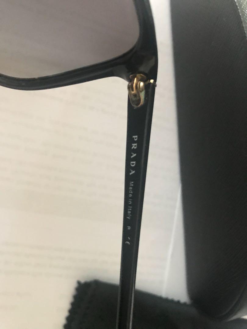 Authentic Prada sunglasses with original packaging