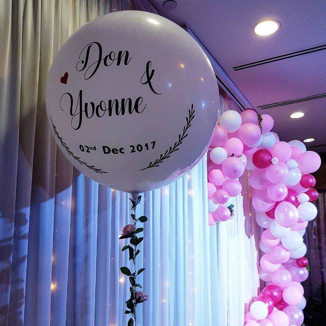 Balloon Decoration For Wedding Stage Design Craft Others On