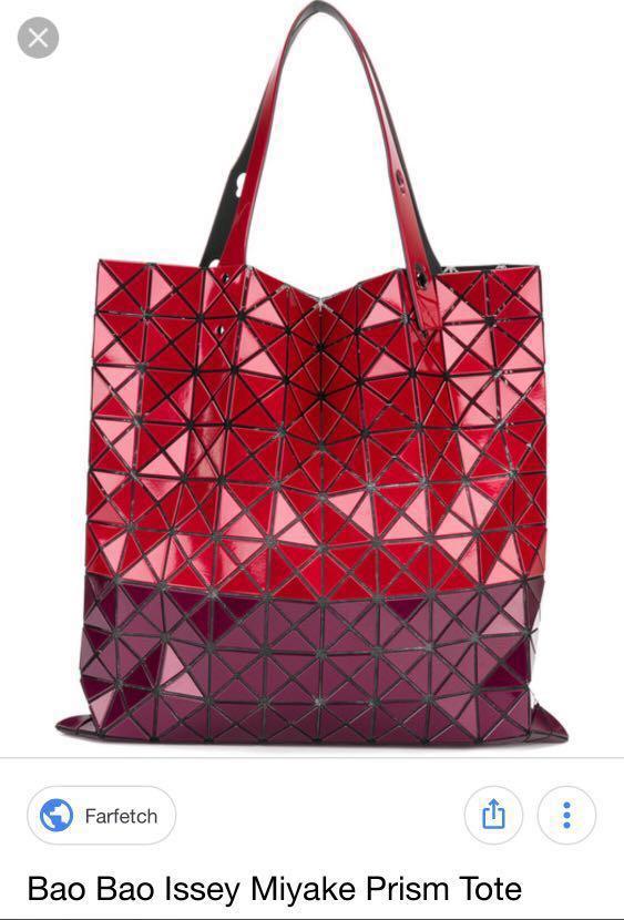 eab39e06c6 Bao Bao Issey Miyake Red Limited Edition