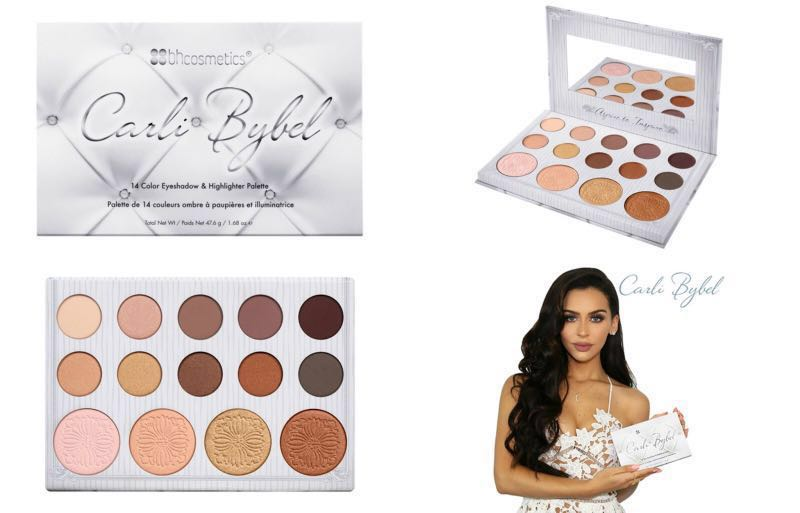 BH Cosmetics | Carli Bybel - 14 Color Eyeshadow & Highlighter Palette, Health & Beauty, Makeup on Carousell