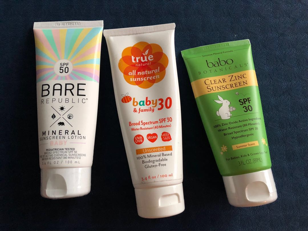 Brand new EWG verified Sunscreen collection