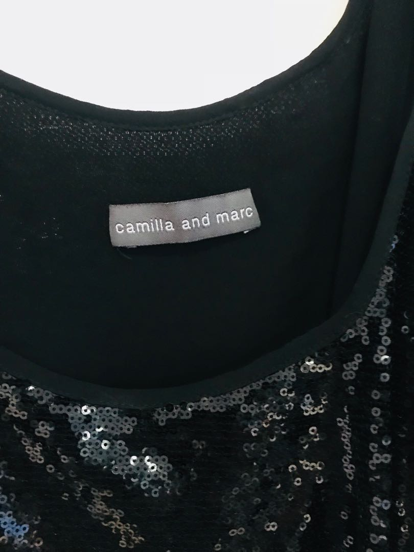 Camilla and Marc Sequin Dress