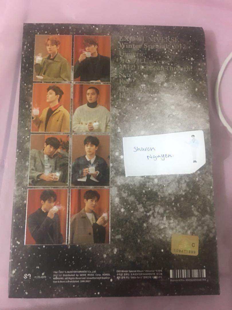 EXO Winter Special Album, 2017 Universe + poster