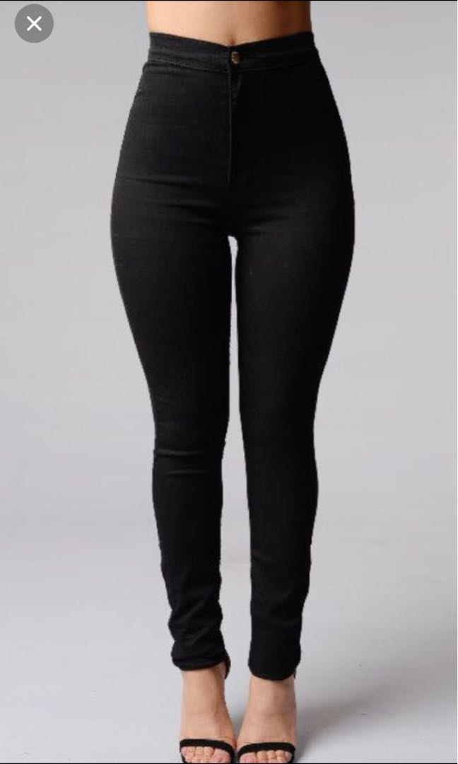 Fashion Nova Super High Waisted Skinny Jeans