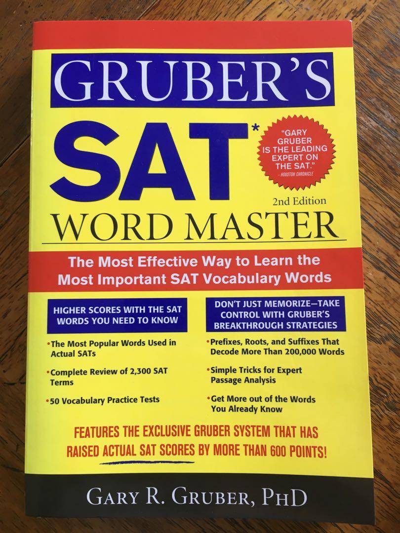 Gruber's SAT Word Master