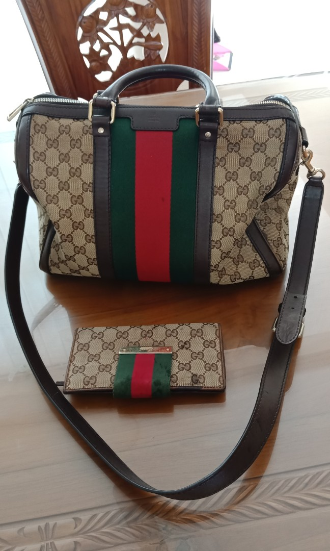 Gucci Bag Original And Purse Women S Fashion Bags Wallets On Carou
