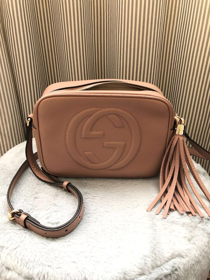 621bce70d Gucci Soho Disco Bag, Luxury, Bags & Wallets on Carousell