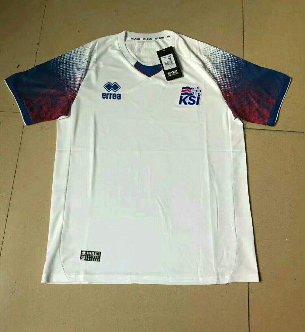 e92b8a43dd3 Iceland 2018 World Cup Away Kit, Sports, Sports Apparel on Carousell