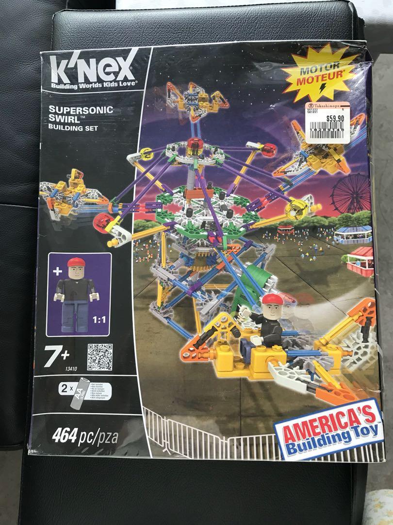 K'Nex supersonic Swirl building set