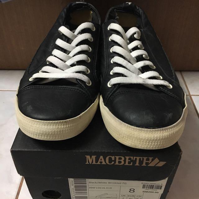 70397ac968 Macbeth Black White Shoes size 8