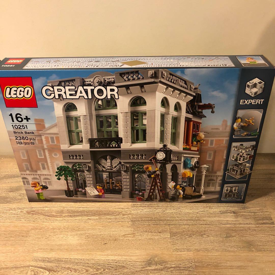 Misb Lego 10251 Creator Expert Brick Bank Modular Toys Games