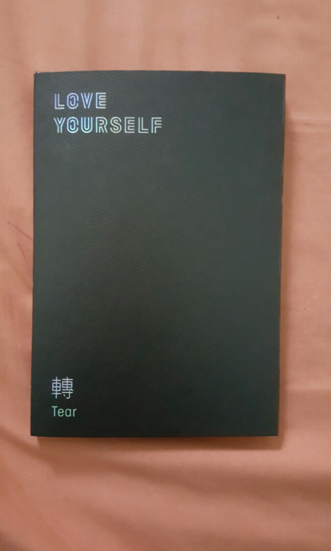 OFFICIAL ALBUM BTS LOVE YOURSELF TEAR VER U
