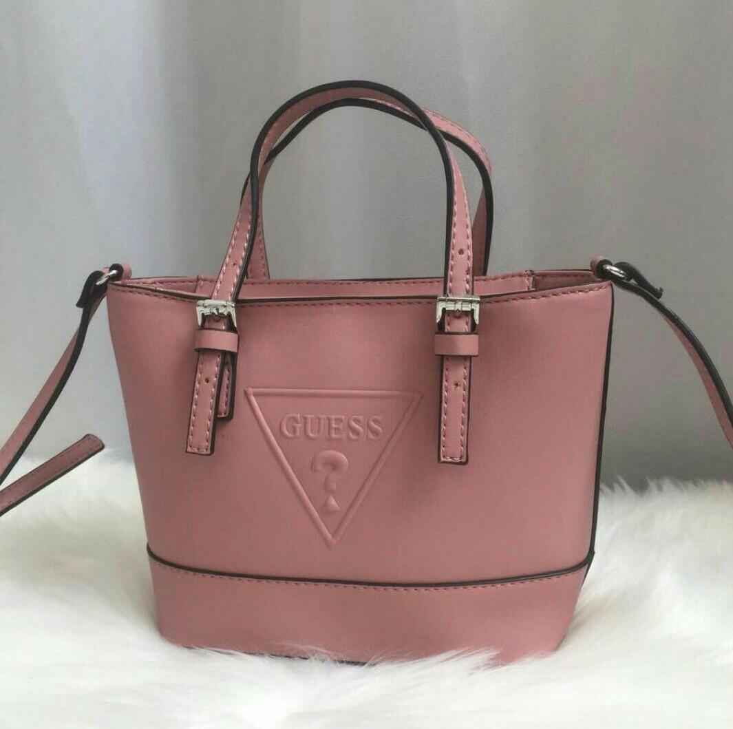 0e70a65fa40b Original guess Delaney mini tote crossbody bag
