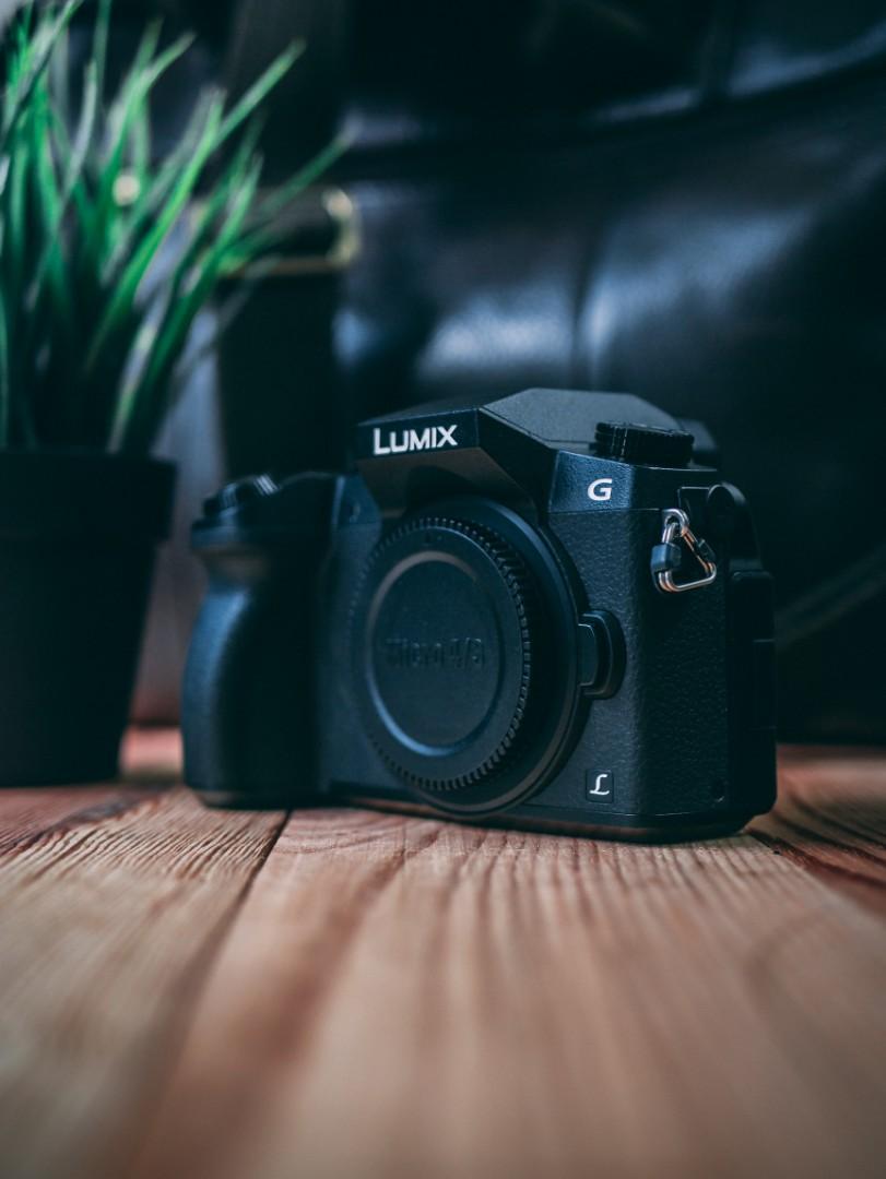 Panasonic Lumix G7 Body Black Kamera Di Carousell Dmc Gf2 Kit 14 42mm Paket Photo