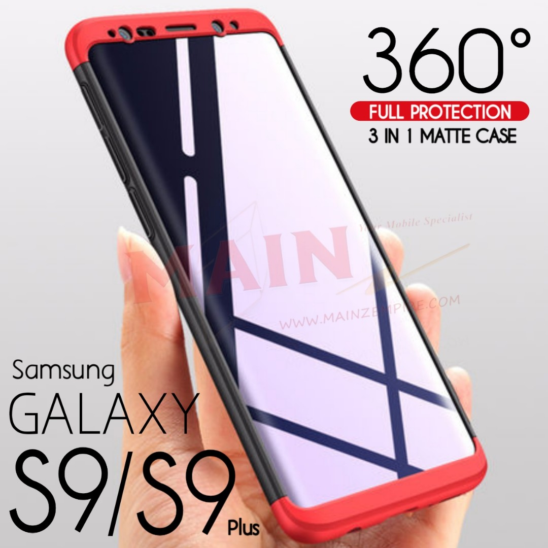 Samsung S9 Plus 360 Full Protection 3 In 1 Case Mobile Phones Goospery S8 Hybrid Dream Bumper Rose Gold Tablets Tablet Accessories Cases Sleeves On Carousell
