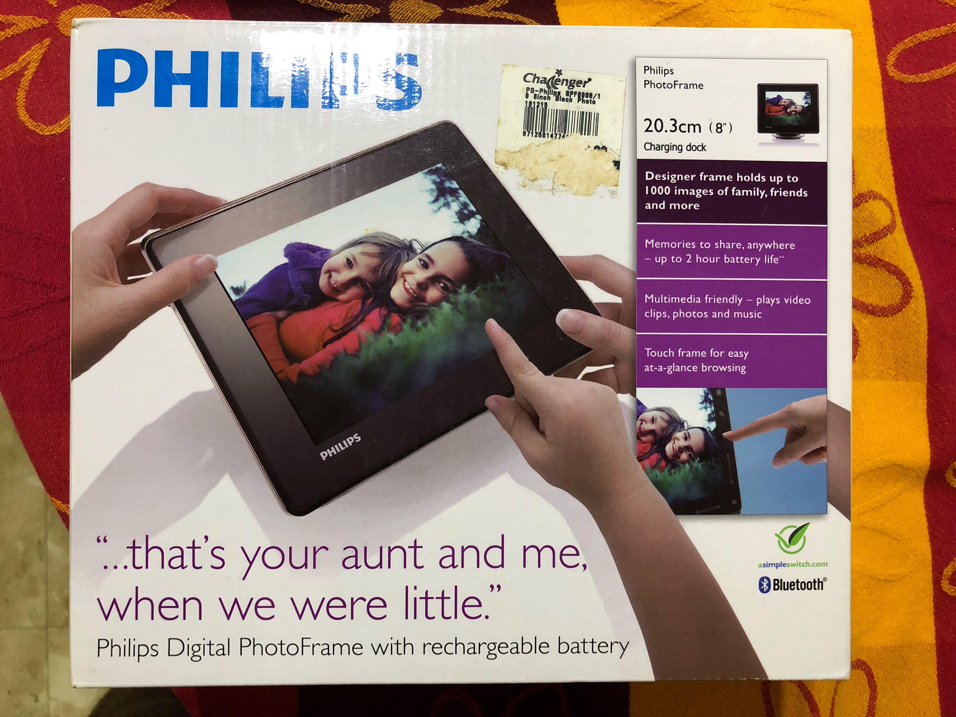 Luxury Philips 8 Digital Photo Frame Sketch - Frame Photo Design ...