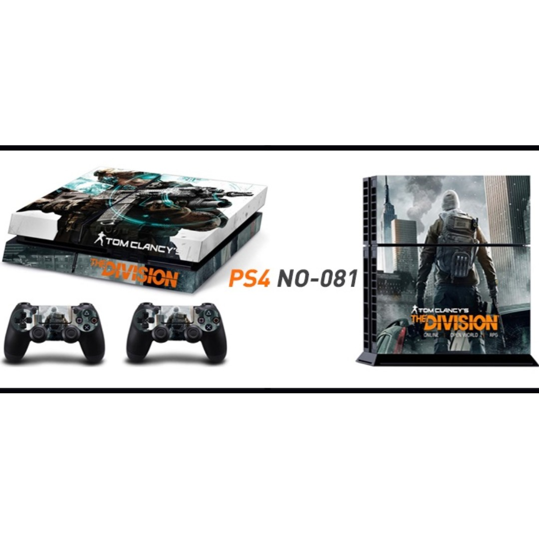 Ps4 Skin With 2 Controller Skins Toys Games Video Gaming Hori Tactical Assault Commander Grip Type G1 For 3 Accessories On Carousell