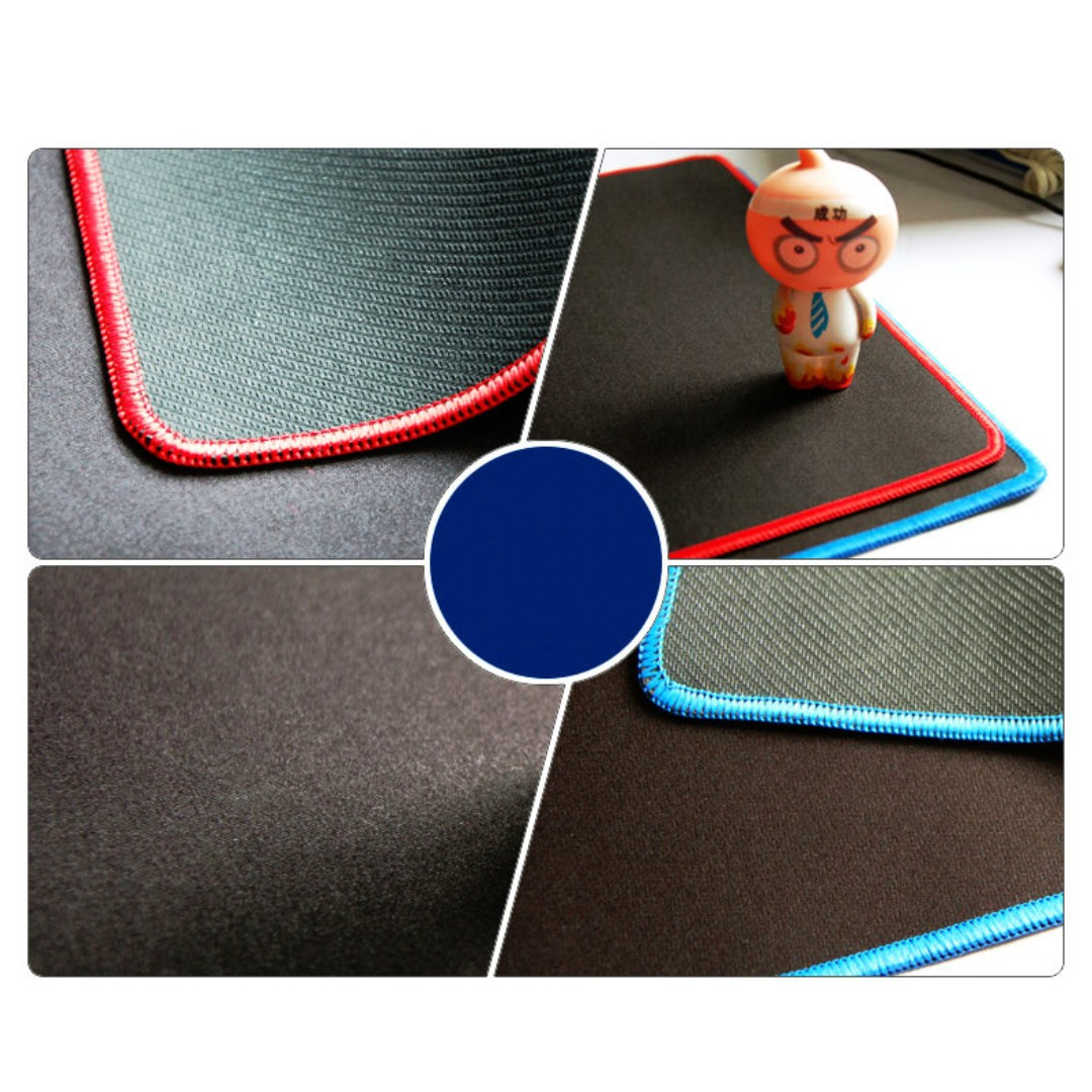 Rubber Gaming Mousepad Mouse Pad Electronics Computer Parts Razer Mantis Normal Edge Mat Accessories On Carousell