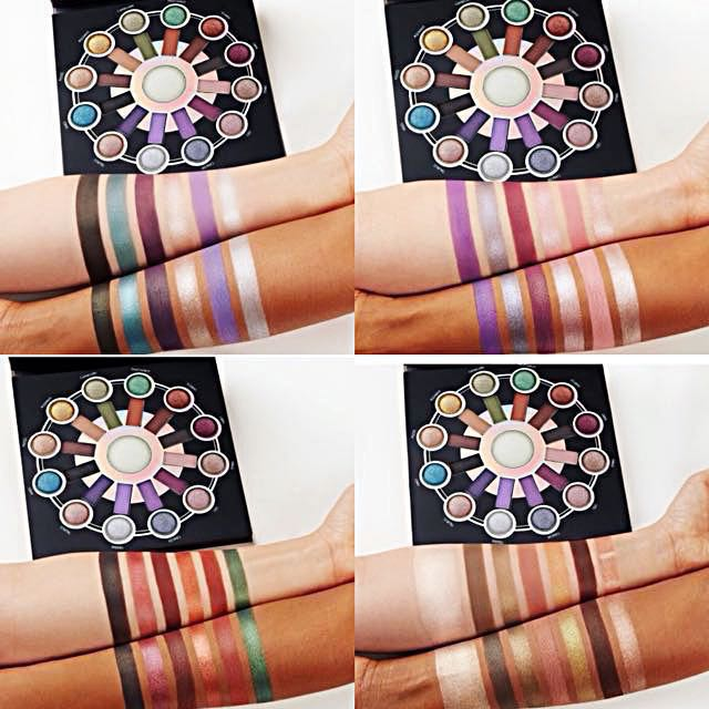 Zodiac Love Signs - 25 Color Eyeshadow & Highlighter Palette by BH Cosmetics #4