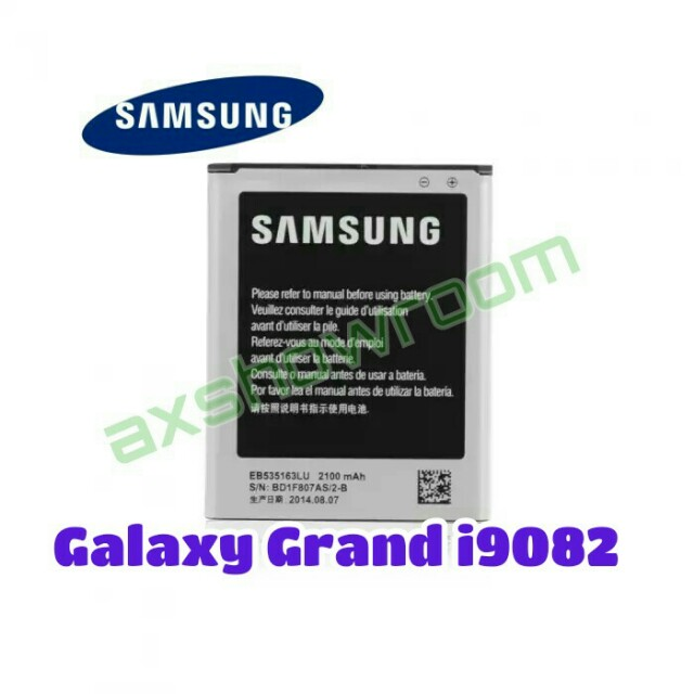Samsung Galaxy Grand Duos i9082 Original Battery, Mobile Phones & Tablets, Mobile & Tablet Accessories, Mobile Accessories on Carousell