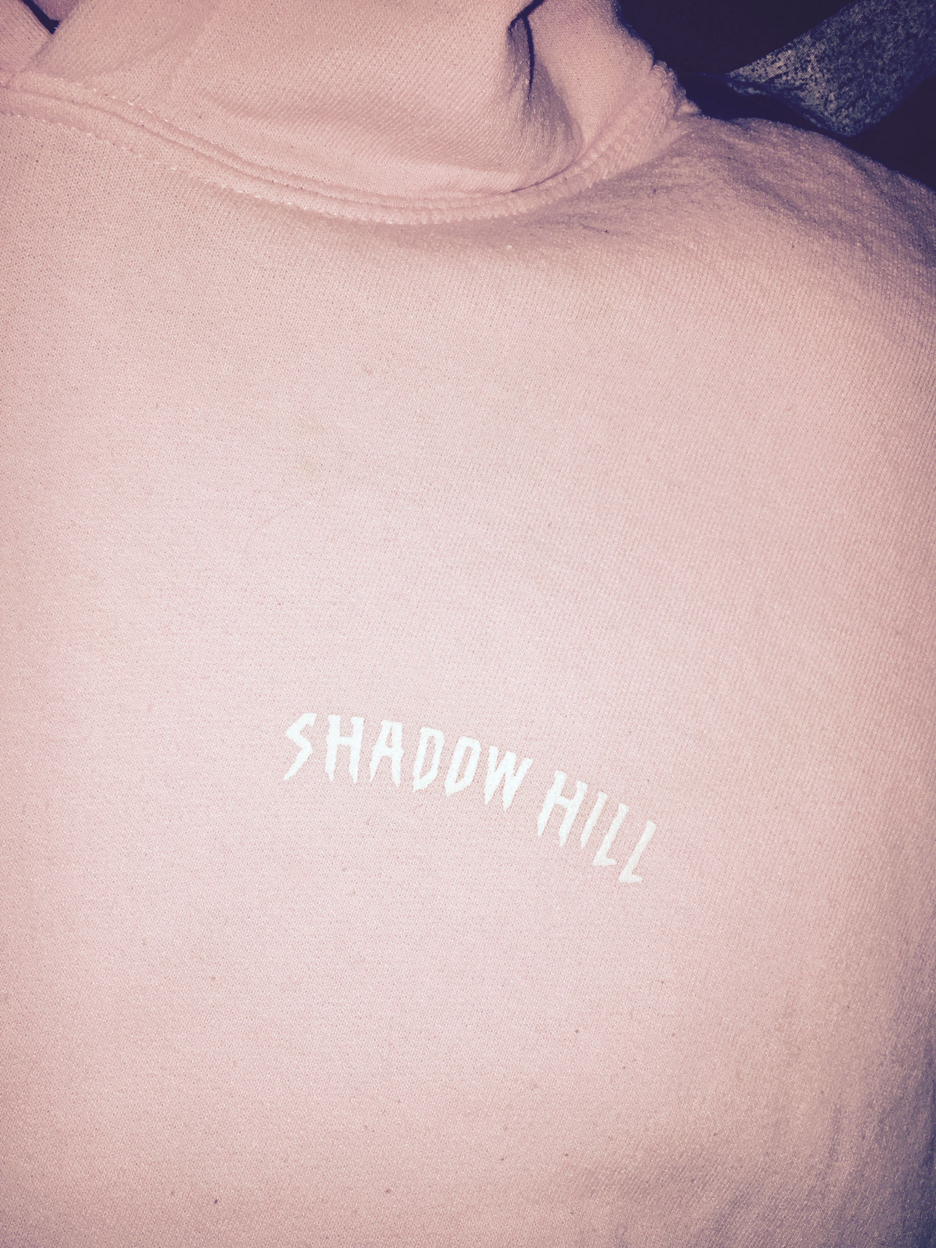 Shadow Hill Pink Rose Oversized Hoodie