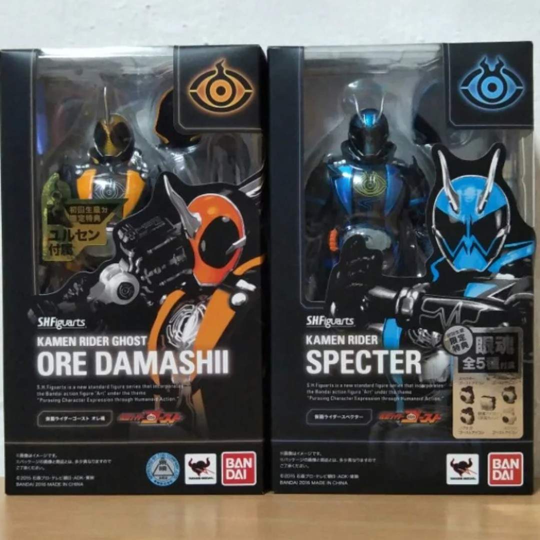 SHFiguarts Kamen Rider Ghost Ore Damashii & Specter, Toys & Games, Bricks & Figurines on Carousell