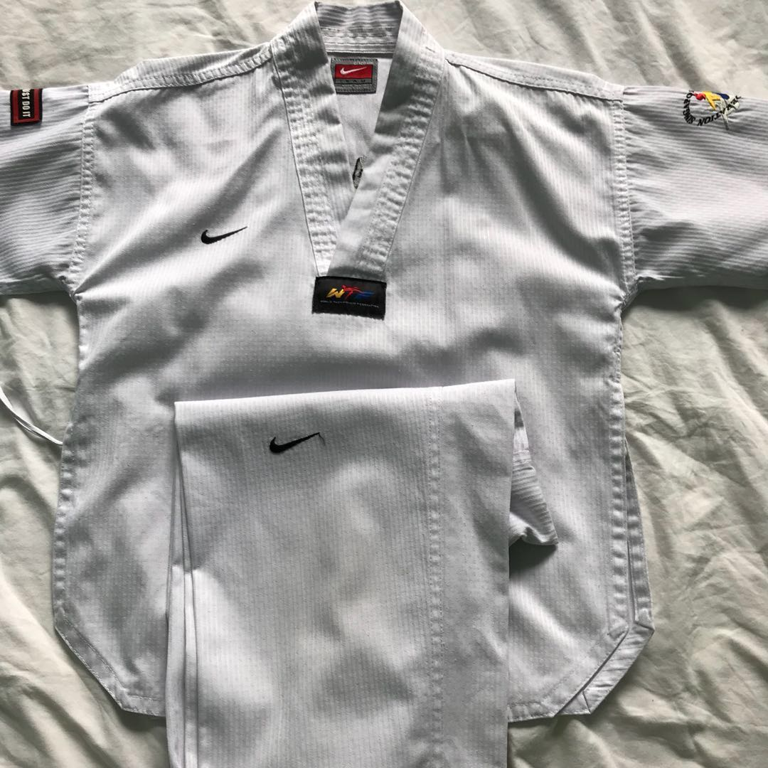Kids Uniform 2120 Federation Taekwondo Cm Singapore Nike