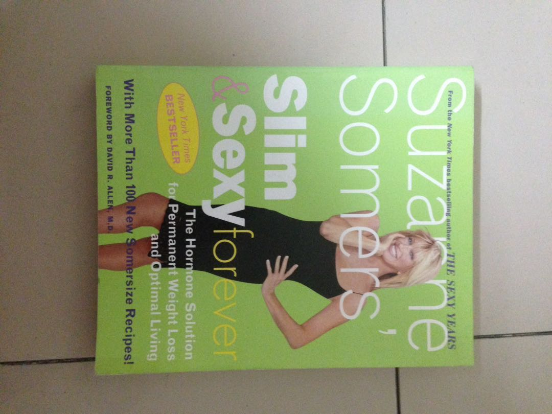 Suzanne somers books sexy forever