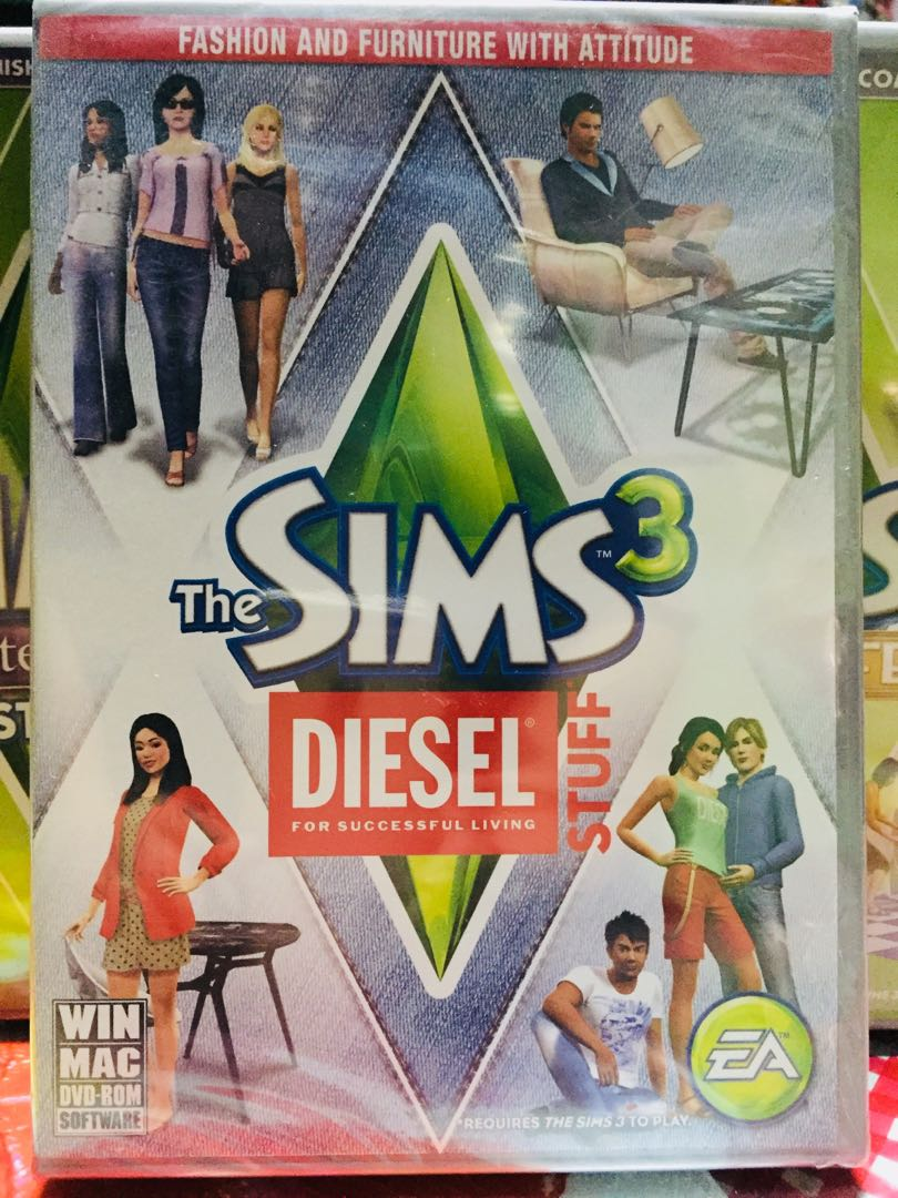 The Sims 3 Diesel Stuff on Carousell