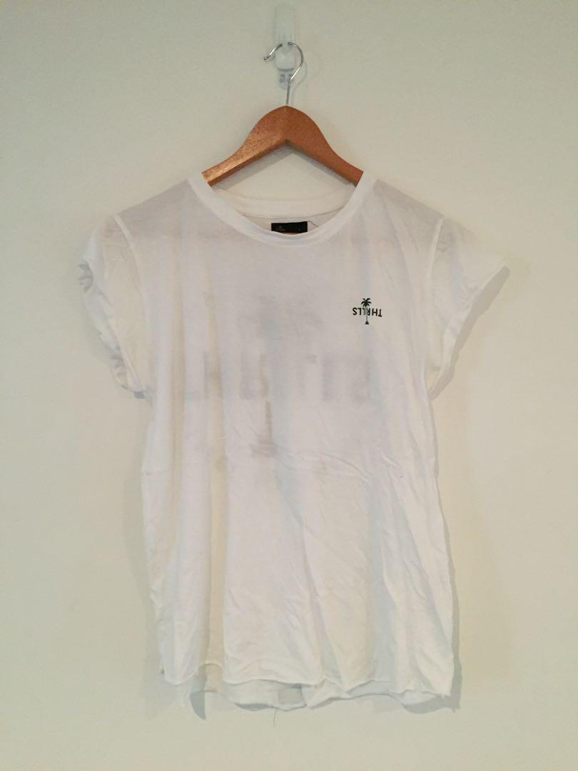 Thrills white T-shirt