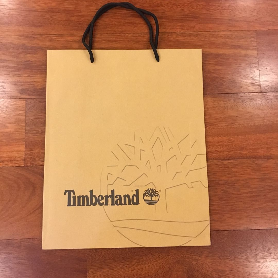 910c9418721 Timberland Paper Bag, Design & Craft, Others on Carousell