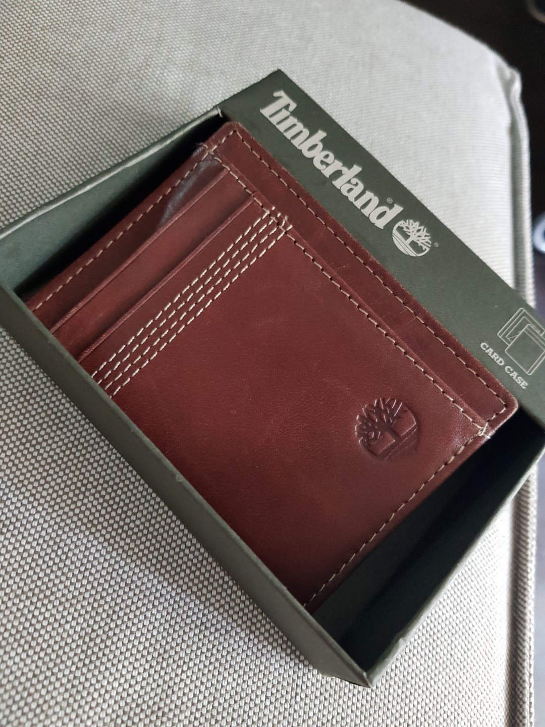 newest 7784a f075b Timberland Card Holder