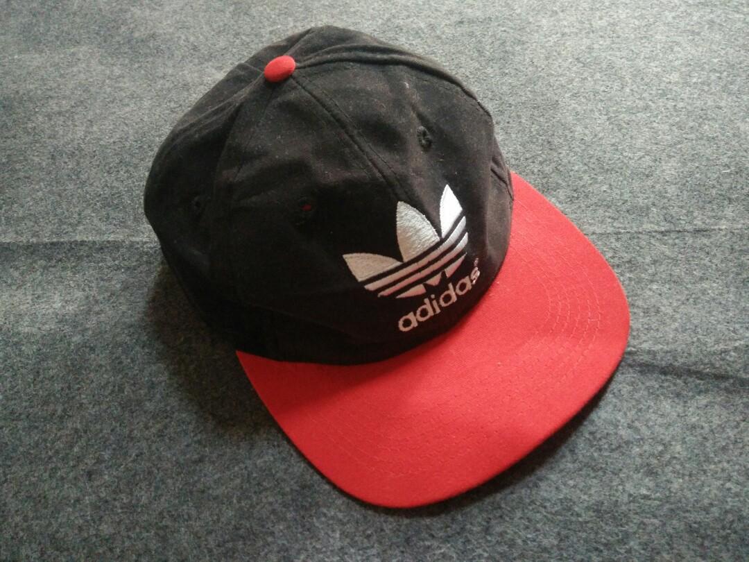 Topi Adidas Bunga Cap Trefoil Vtg Ori 9677b9fb5f9b