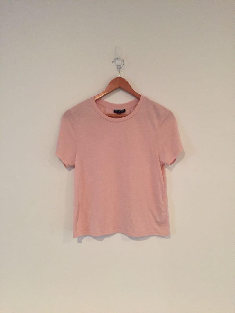 Topshop blush T-Shirt