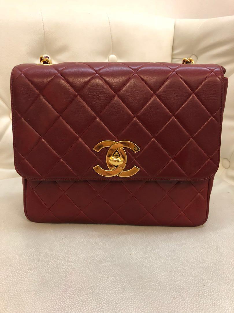 034fb53daf816 Vintage authentic Chanel bag