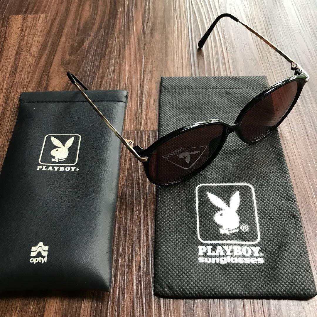92079b1c9e051 Vintage Playboy Sunglasses Gold Hardware