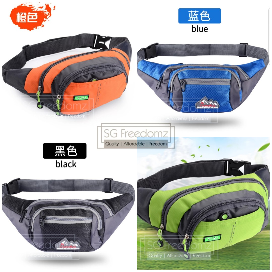 986a80bbb7b Waterproof Large Capacity Sports Waist Pouch Bag