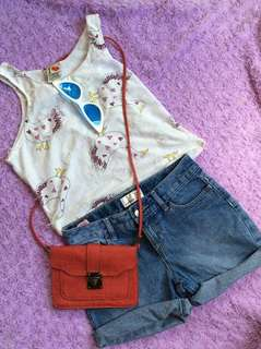 Shorts and top for ages 10-12