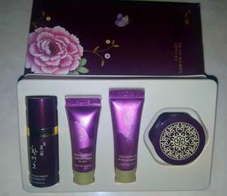 The Face Shop Gold Set Skincare (sample size)