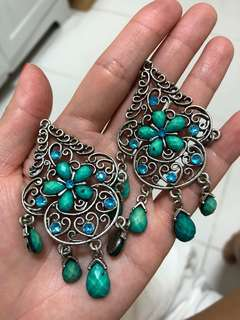 NEW turquoise fashion earrings