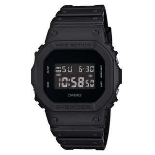 only hk$569, 100% new Casio G-shock Solid Colors DW-5600BB-1JF Men's Watch [Limited] Japan Import手錶