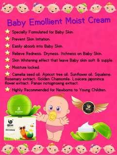 Baby emollient cream