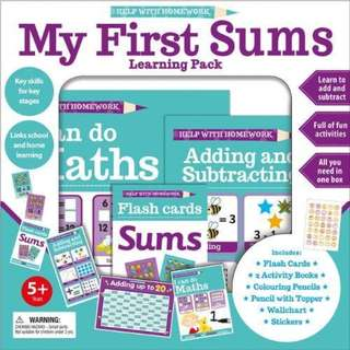 My First Sums Learning Pack