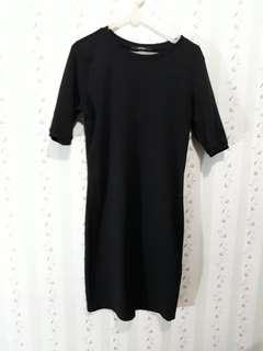 Midi Casual Dress black