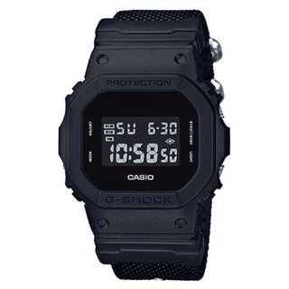 only hk$529, 100% newCasio G-Shock DW-5600BBN-1 Nato Band Digital Men's Watch (Military Black) (Limited Model)手錶
