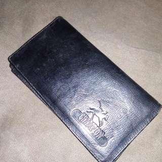 Dompet kulit merk Champion original leather kondisi 90%