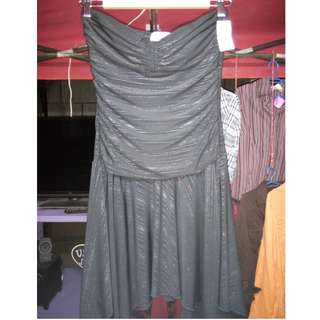 Gown Black tube
