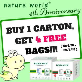 Nature World 4th Anniversary Special Promotion!!!