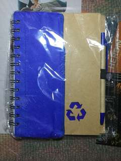 Notebook with Pencil Case and Pen